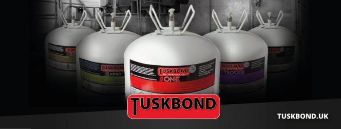 Tuskbond canister adhesives